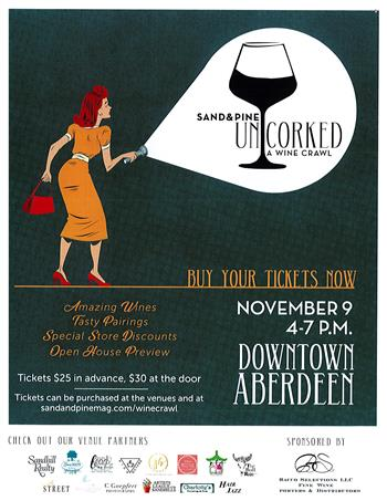 Uncorked! A Wine Crawl